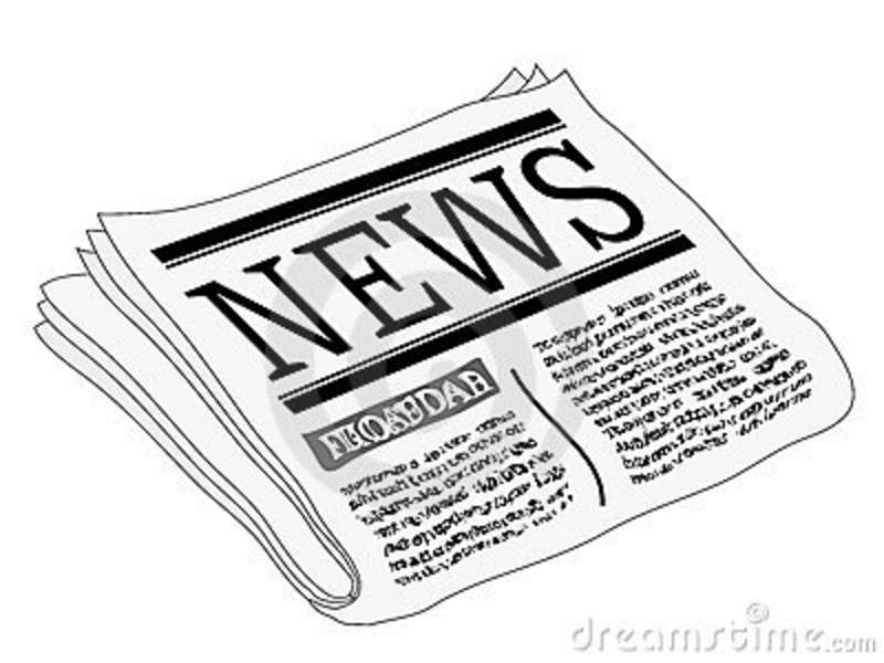 clipart picture of a newspaper - photo #26